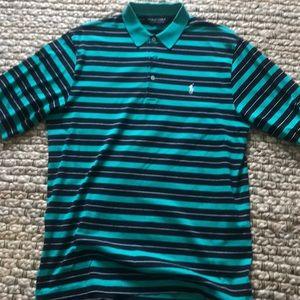 Men's golf polo small
